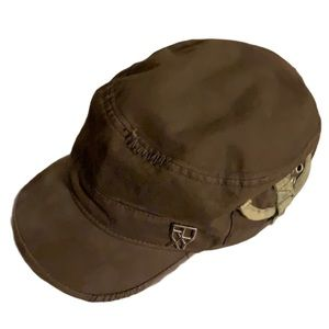 Roxy Brown Army Cap - One Size